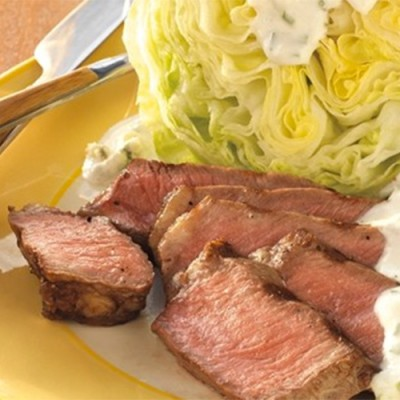 Steak House Wedge Salad with Blue Cheese Dressing by Weber Grills