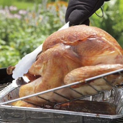 How to Roast a Turkey on the Grill for Thanksgiving