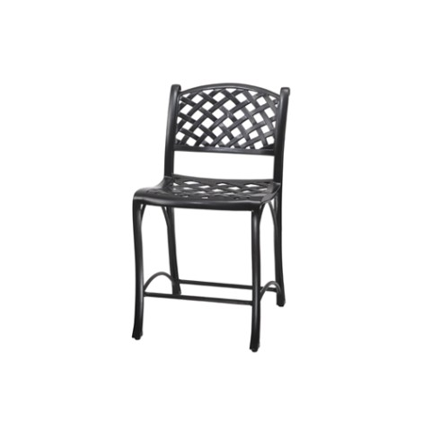 STATIONARY BALCONY STOOL WITHOUT ARMS