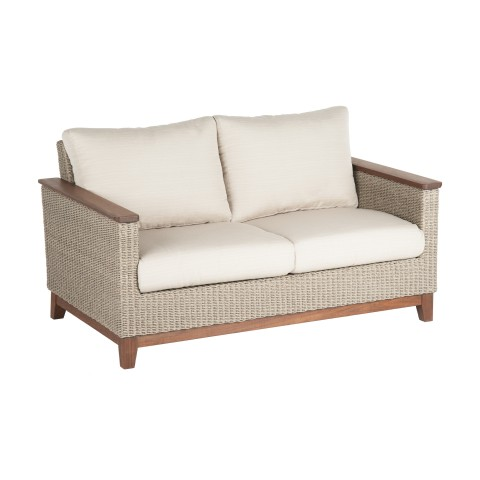 Coral Loveseat: