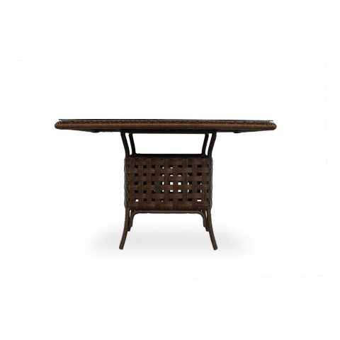 "HAVEN 47"" SQUARE UMBRELLA DINING TABLE: