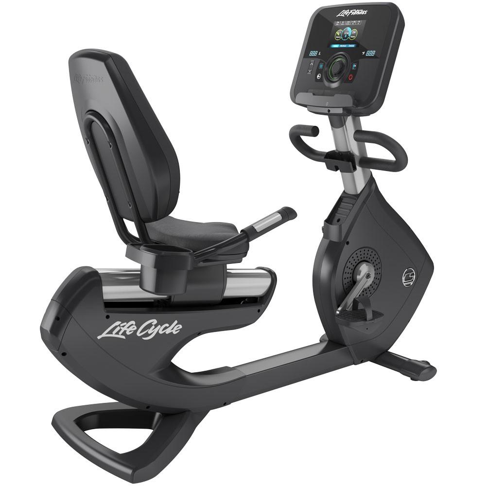 Life Fitness Platinum Club Series Recumbent Lifecycle Exercise Bike 8440