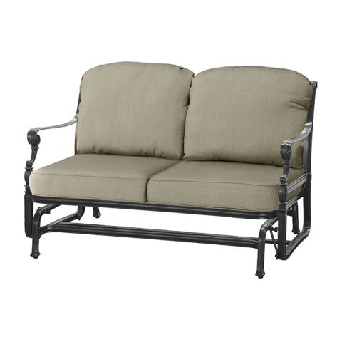 "GRAND TERRACE CUSHION LOVESEAT GLIDERW: 52"" D: 35"" H: 39"" Weight: 58.5lbs"