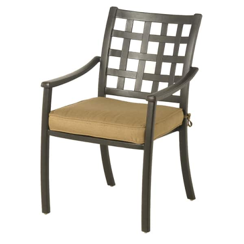 "Stratford Dining Chair  24""W x 19.3""D x 36.7""H Seat Height 16.5"""