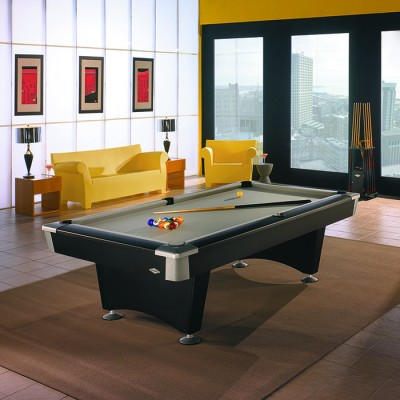 Black Wolf Billiard Table