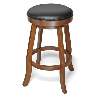 Traditional Backless Pub Stool Chestnut