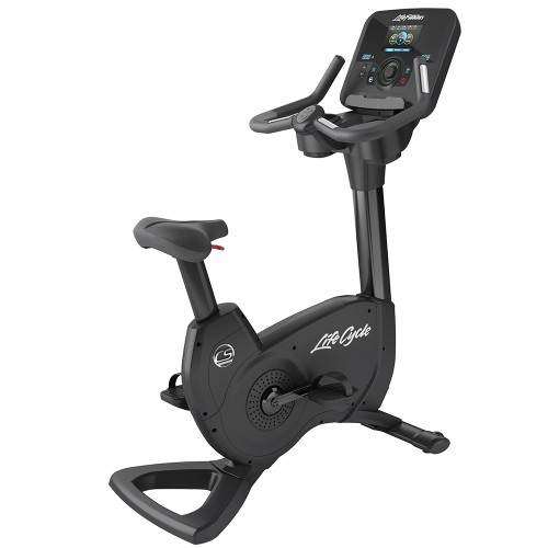 Life Fitness Platinum Club Series Upright Lifecycle Exercise Bike