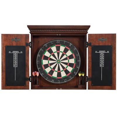 Cavalier Dartboard With Cabinet