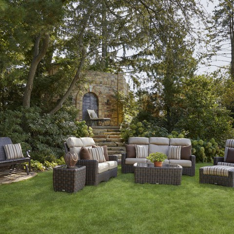 Kampala Deep Seating Collection, Great Escape Patio Furniture Covers