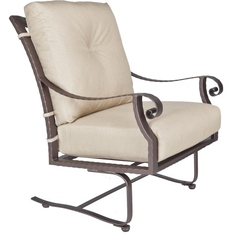Spring Base Lounge ChairWidth/Diameter :	30 Depth/Length:	38.5 Height:	41 Seat Height:	21 Arm Height:	27 Weight:	60