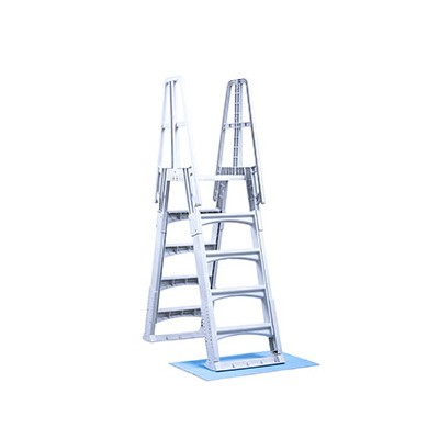 Slide-Lock A-Frame Ladder