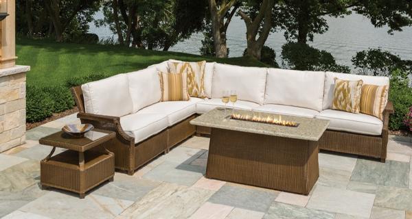 wicker patio furniture - patio sets | the great escape