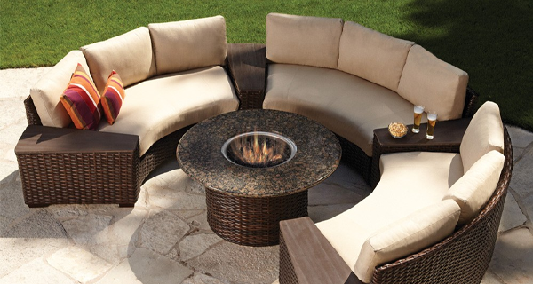 Contempo Curved Sectional