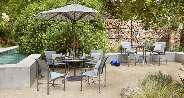 cast aluminum patio furniture - outdoor furniture | the great escape