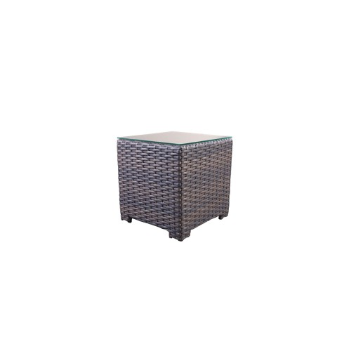 Woven End Table: