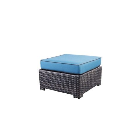 "Deluxe Ottoman:  30""  W x 30""  D x 19""  H"