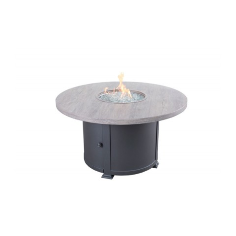 "Faux Wood Fire Table:42"" W x 42"" D x 25""H"