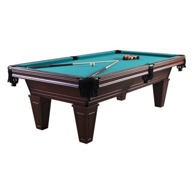 Carson Billiard Table (Dark Amber) with Playing Package