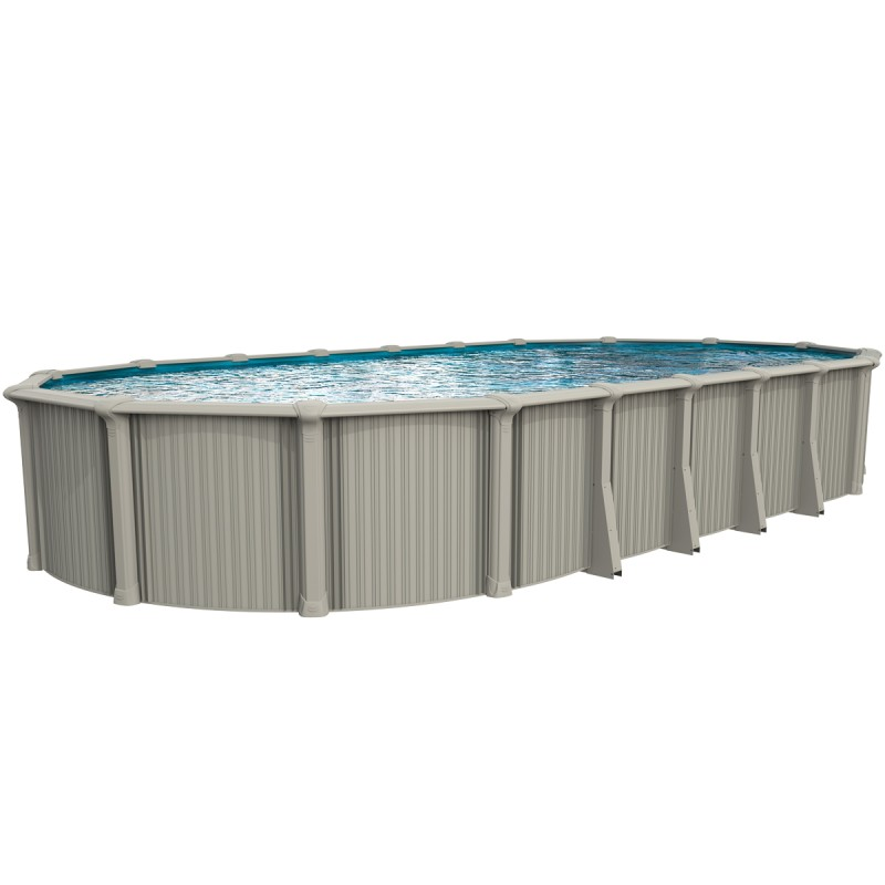 54 Quot Oasis Oval Semi Inground Pool Above Ground Pools