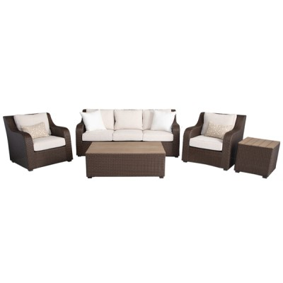 Pasco 5pc Sofa Seating Group