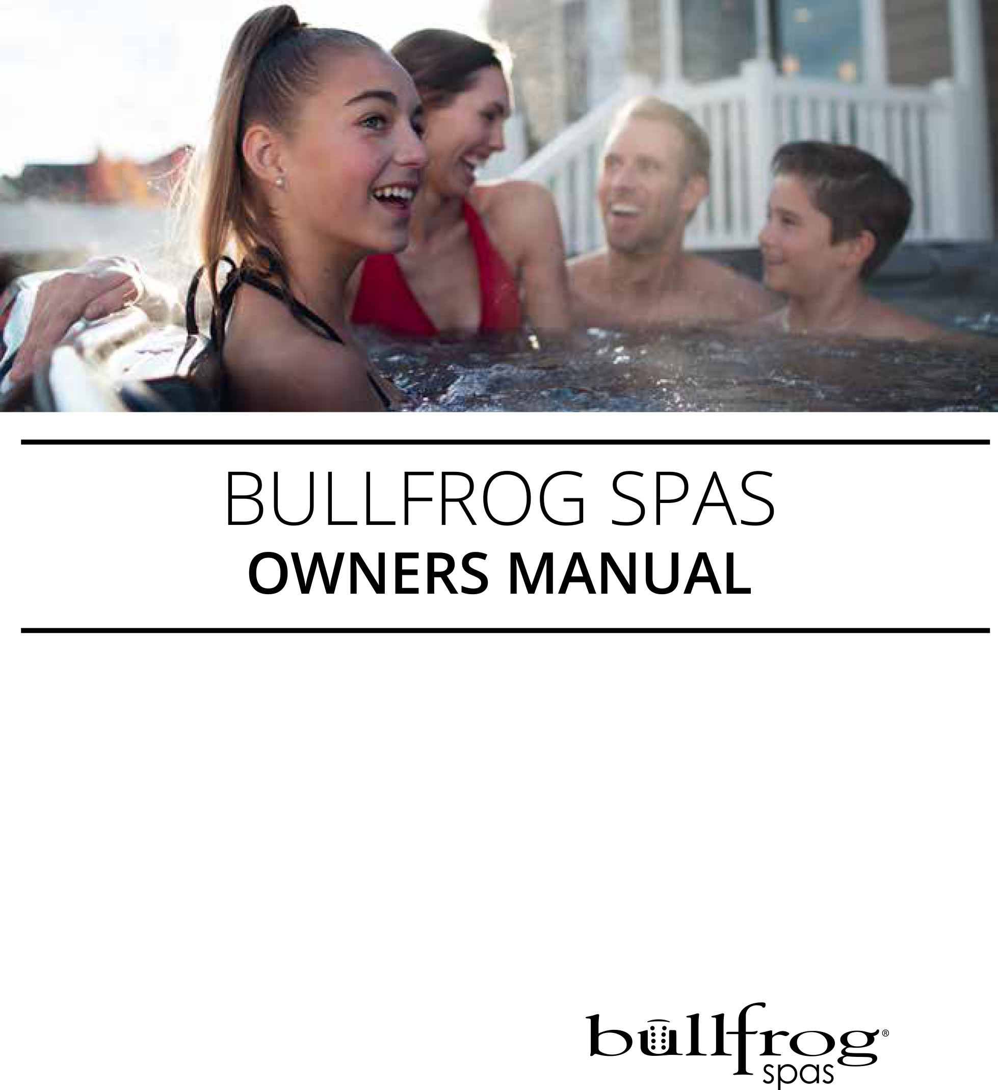 2017 Bullfrog Manual