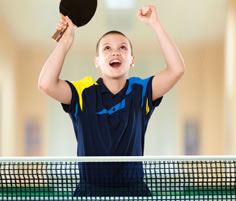 Table Tennis kid