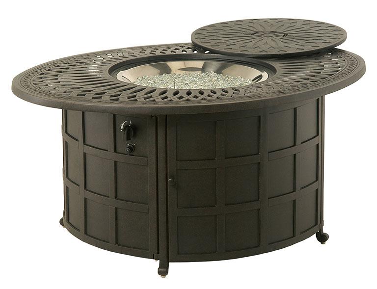 Hanamint Mayfair Gas Fire Pit Table The Great Escape