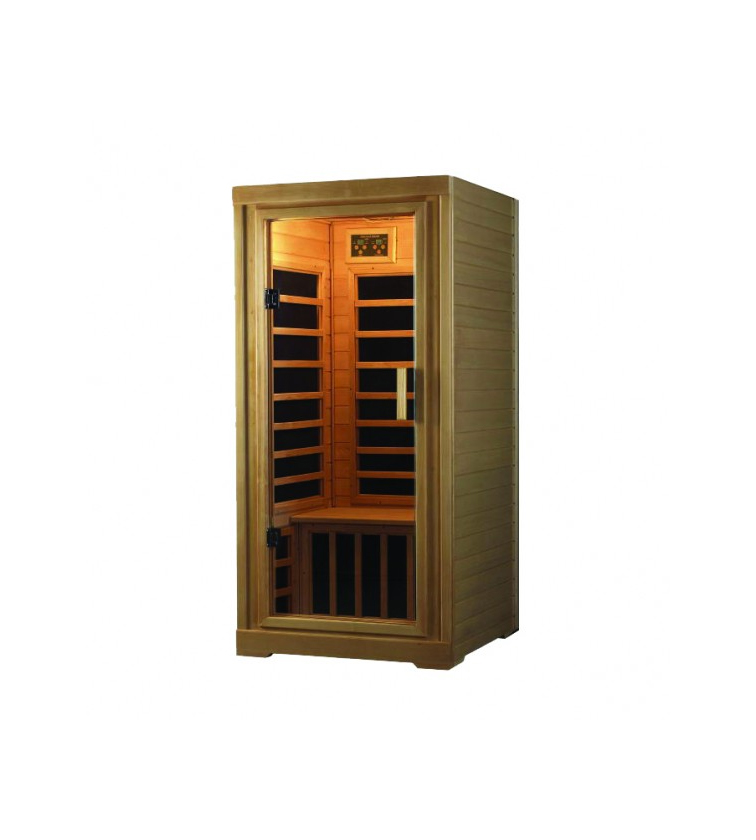 One Person Deluxe Infrared Sauna With Stereo Saunas