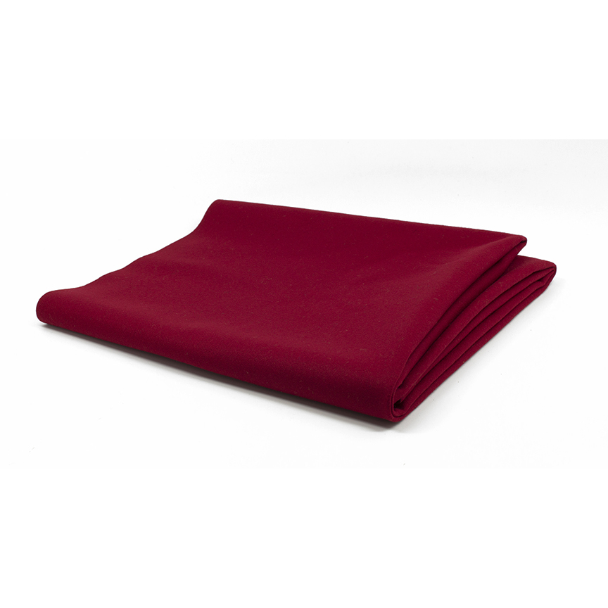 Burgundy Cloth Stain Resistant Billiard Table Cloth