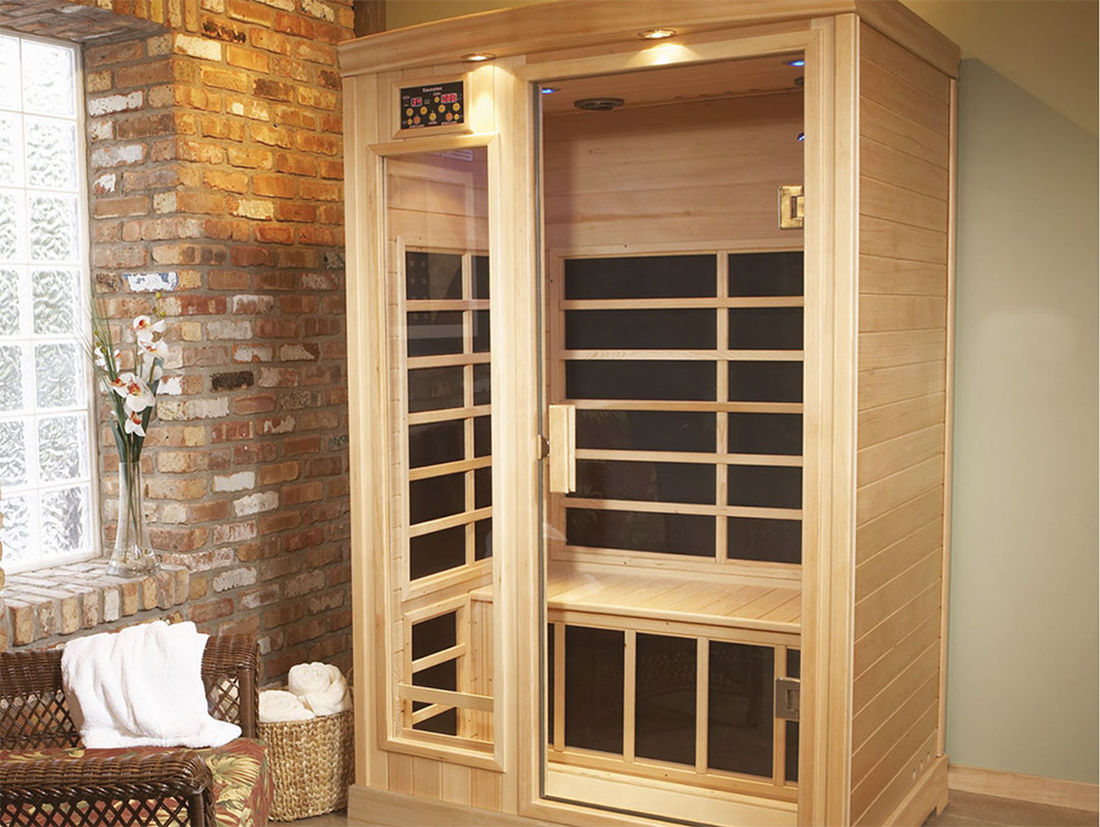 infrarot wrmekabine kaufen wohnung with infrarot. Black Bedroom Furniture Sets. Home Design Ideas