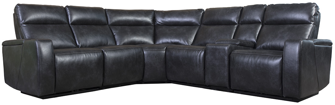 Brighton 6 Piece Power Sectional