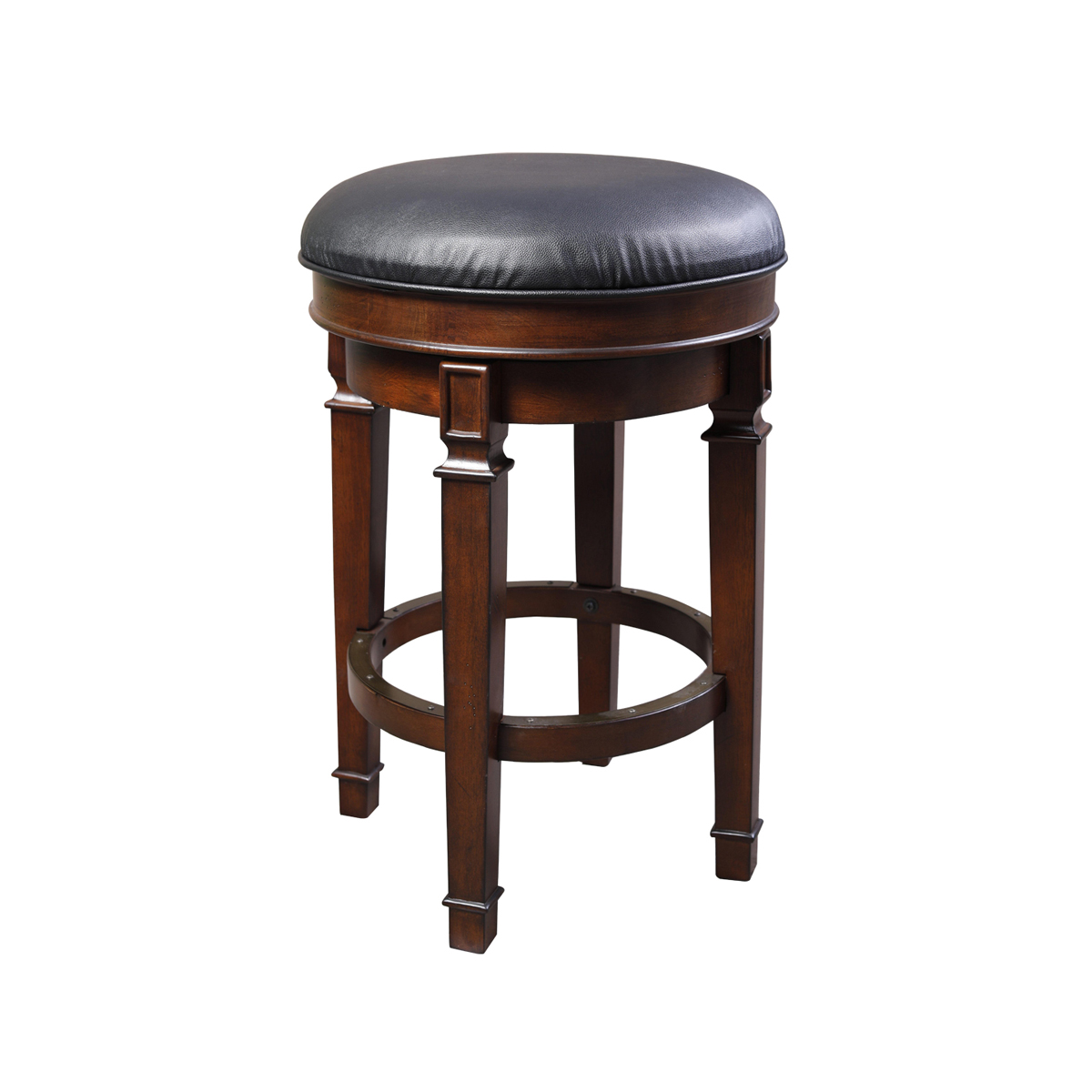 Distressed Walnut BarStool (Set of 2)