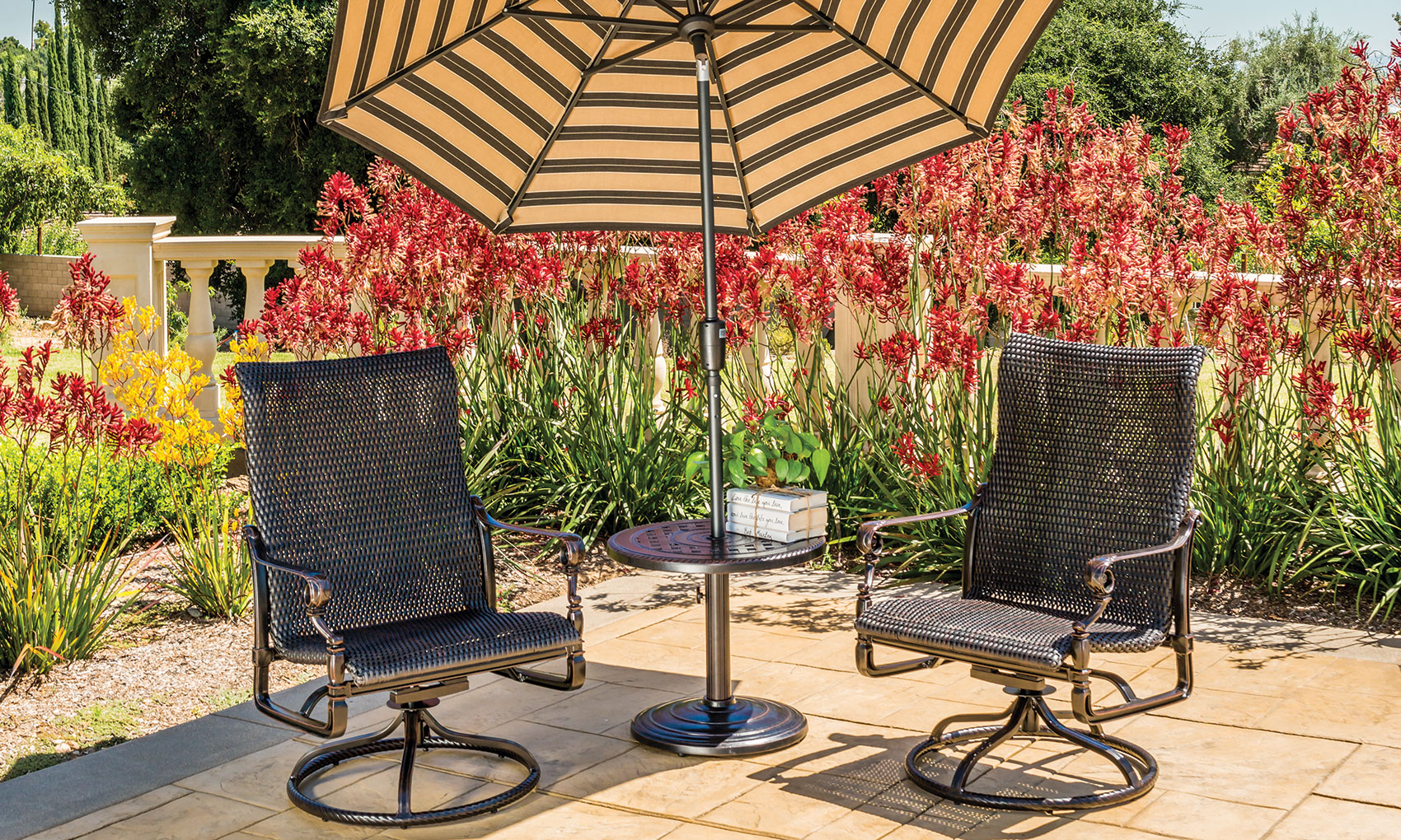 Grand Terrace Woven Lounge Chairs