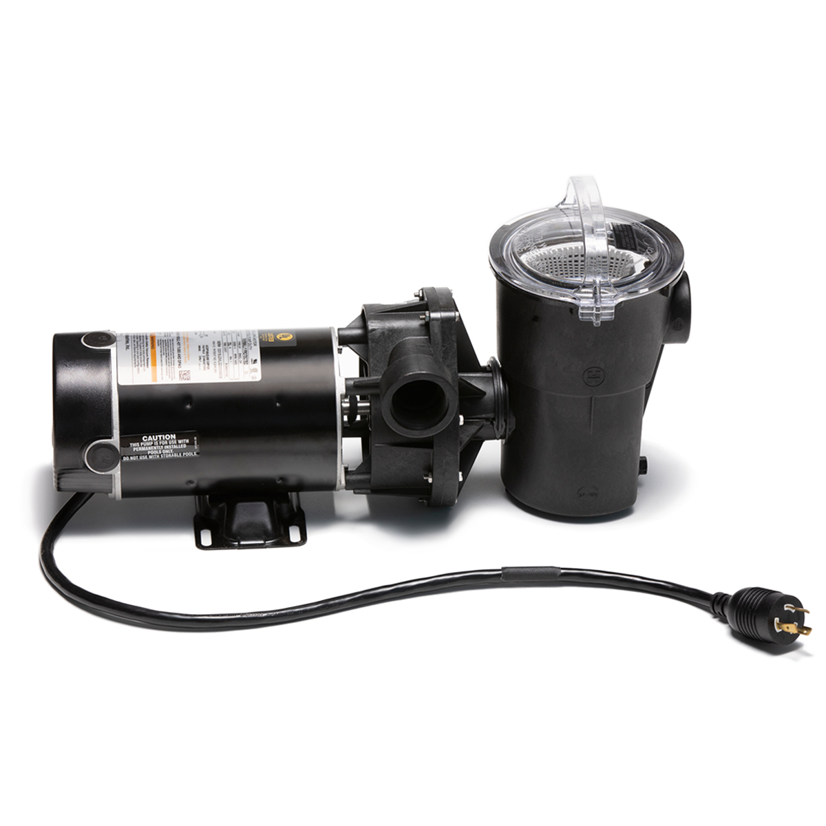 2.0HP Swimpro Horizontal Discharge Pump with Twist-Lock Cord and 2 Year Warranty