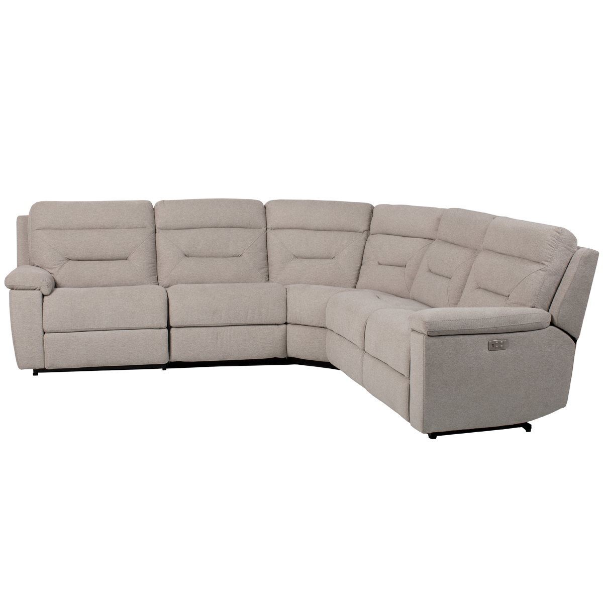 Cordoba 5 Piece Power Sectional