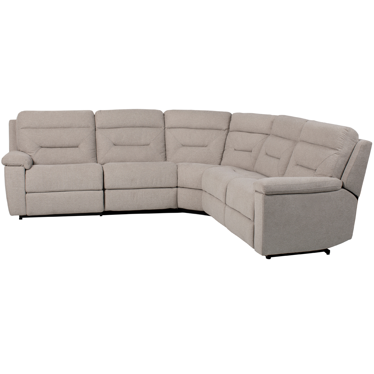 Cordoba 5 Piece Manual Reclining Sectional