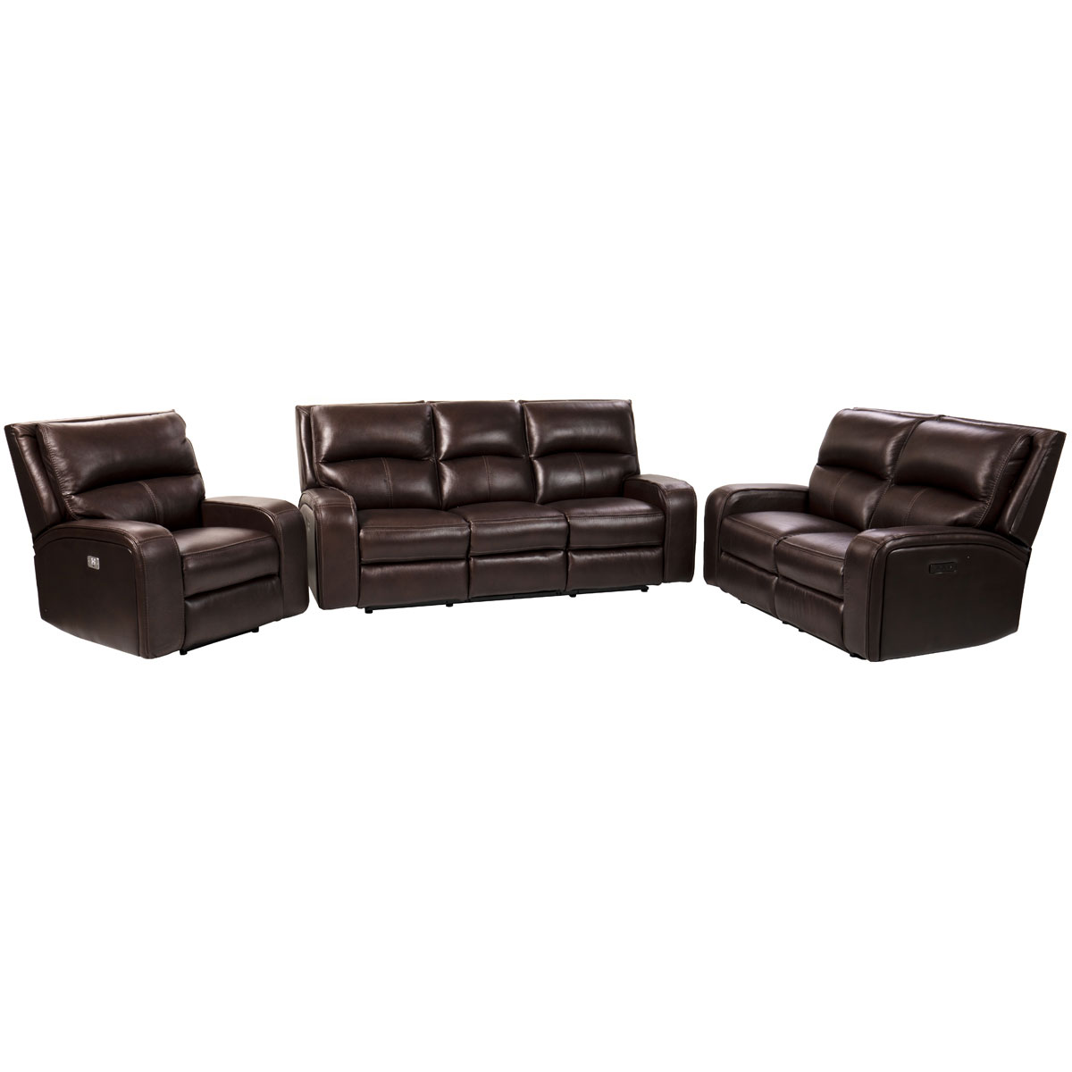 Wellington 3 Piece Power Sofa Group