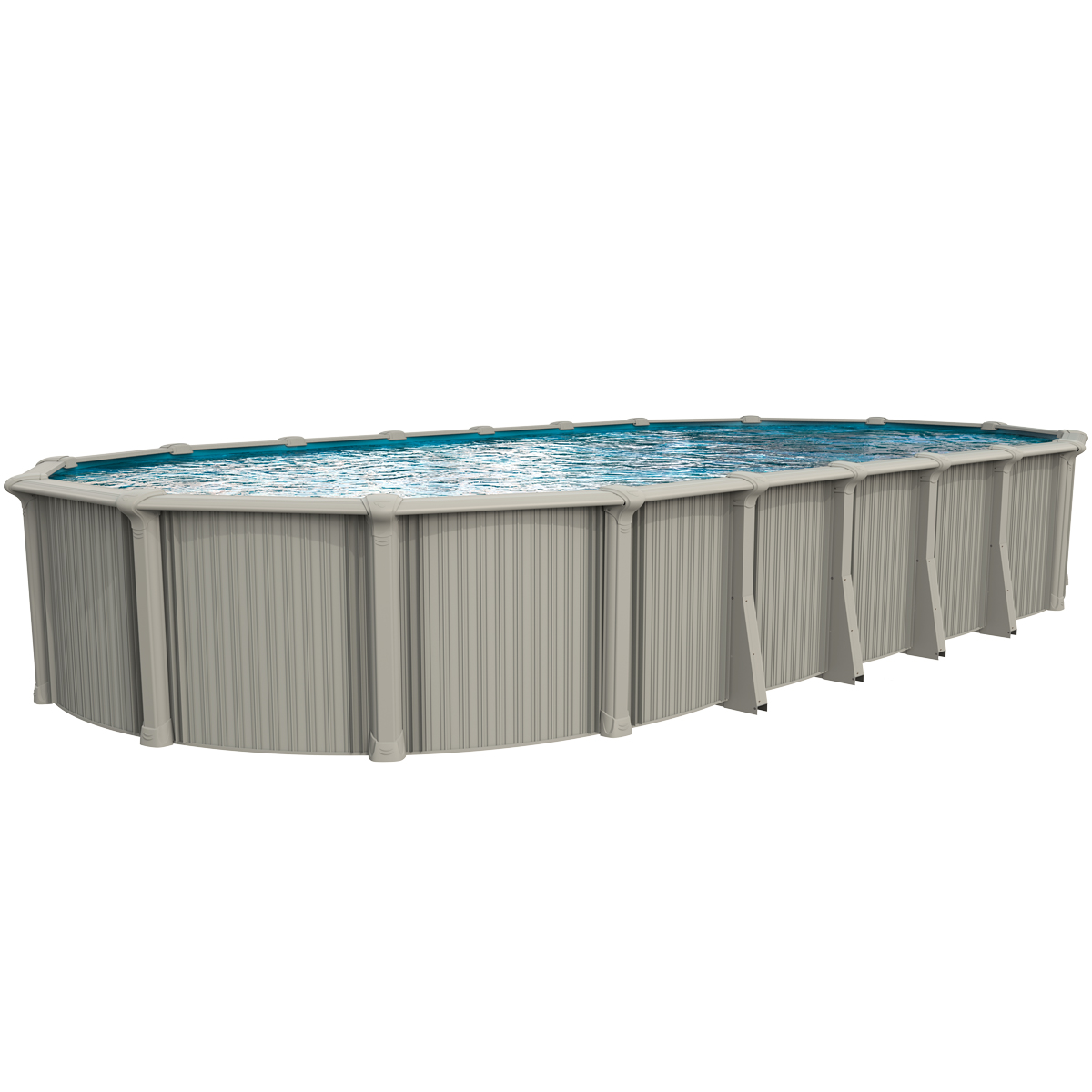 "54"" OASIS (OVAL) SEMI-INGROUND POOL"