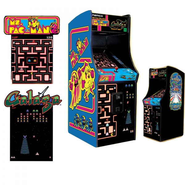 Ms Pac Man Galaga Arcade Game Arcade Games The Great